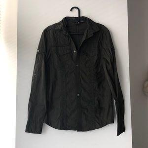 Armani Exchange Khaki Shirt